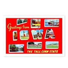 Iowa Greetings Postcards (Package of 8)