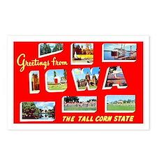 Iowa Greetings Postcards (Package of 8)