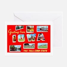 Iowa Greetings Greeting Card