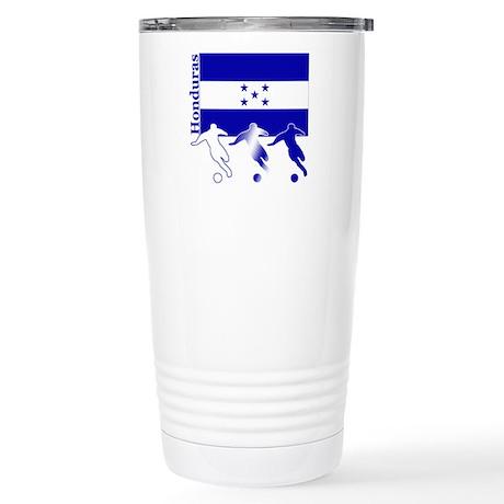 Honduras Soccer Stainless Steel Travel Mug
