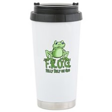 Fully Rely on God Travel Mug