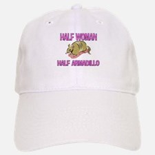 Half Woman Half Armadillo Baseball Baseball Cap