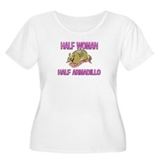 Half Woman Half Armadillo T-Shirt