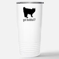 Got Bobtail? Stainless Steel Travel Mug