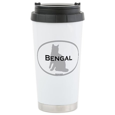 Bengal Oval Stainless Steel Travel Mug