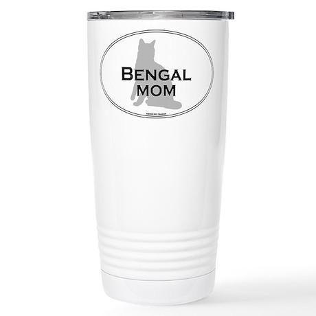 Bengal Mom Stainless Steel Travel Mug
