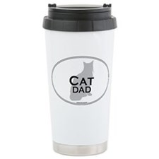 House Cat Dad Travel Mug