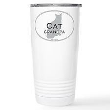 House Cat Grandpa Travel Mug