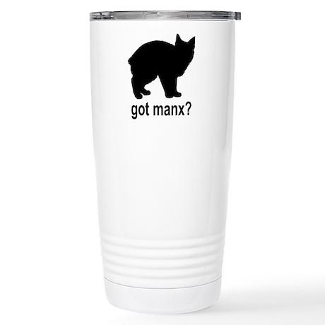 Got Manx? Stainless Steel Travel Mug