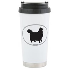 Norwegian Forest Silhouette Travel Mug