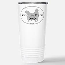 Norwegian Forest Dad Travel Mug