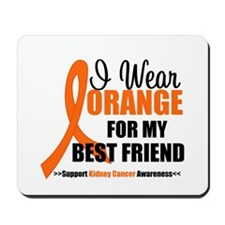 I Wear Orange Best Friend Mousepad