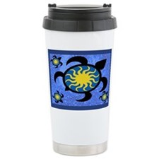 Sun Turtles Travel Coffee Mug