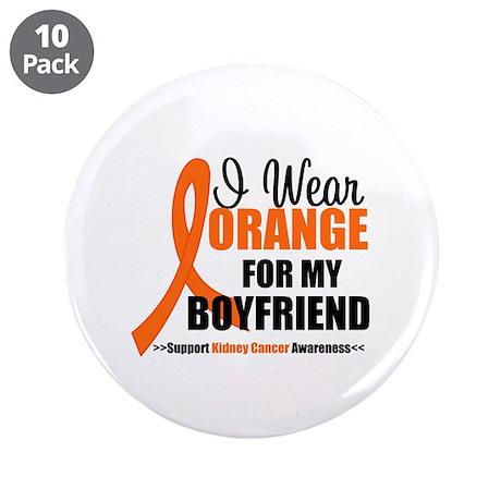 """I Wear Orange Boyfriend 3.5"""" Button (10 pack)"""