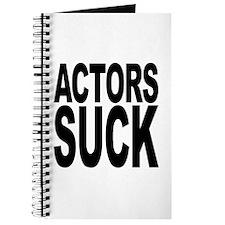 Actors Suck Journal