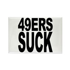 49ers Suck Rectangle Magnet