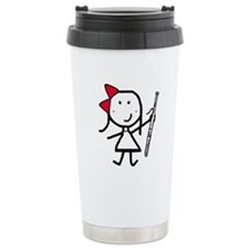 Girl & Bassoon Thermos Mug
