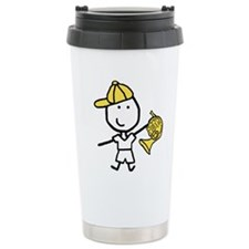 Boy & French Horn Travel Mug