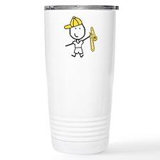 Boy & Trombone Travel Mug