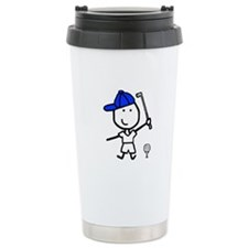 Boy & Golf Travel Mug