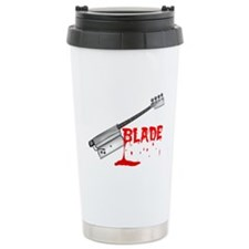 Bloody Halloween Bass Guitar Travel Mug