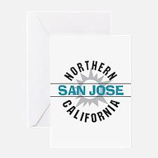 San Jose California Greeting Card