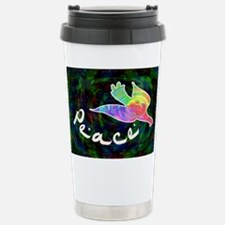 Rainbow Dove Peace Travel Mug