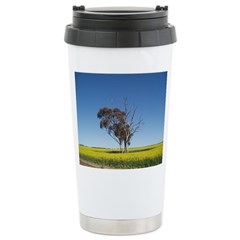 Canola fields Stainless Steel Travel Mug