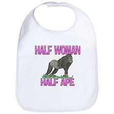 Half Woman Half Ape Bib