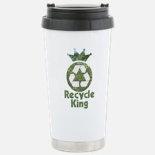 Recycle King Stainless Steel Travel Mug