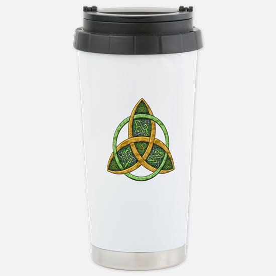 Celtic Trinity Knot Stainless Steel Travel Mug
