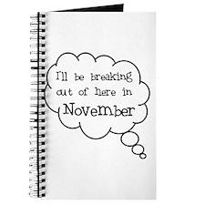 """Breaking Out November"" Journal"