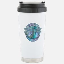 Cool Celtic Dragonfly Stainless Steel Travel Mug