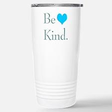 """""""Be Kind"""" with a heart. Travel Mug"""