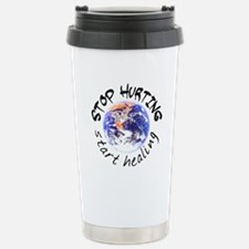 Start Healing the World Stainless Steel Travel Mug