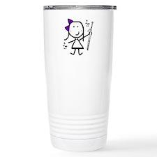 Bassoon - Purple Travel Coffee Mug