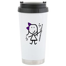 Bassoon - Purple Travel Mug