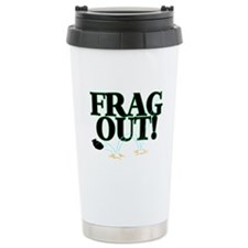 Frag Out Travel Coffee Mug