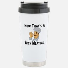 Spicy Meatball Stainless Steel Travel Mug