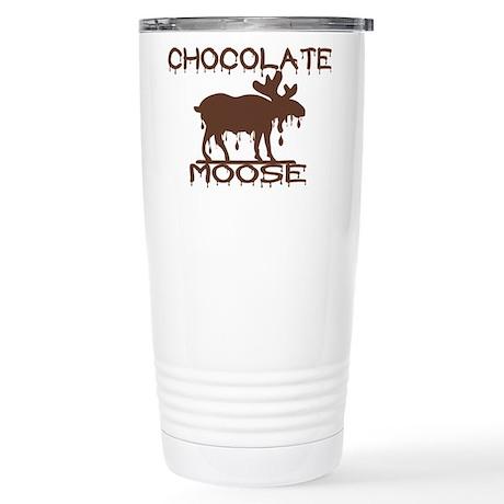 Chocolate Moose Stainless Steel Travel Mug