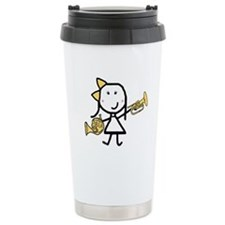 Mello & French Horn Travel Coffee Mug