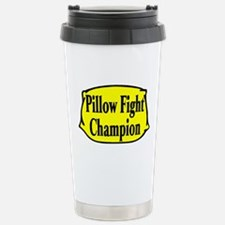 Pillow Fighter Travel Mug