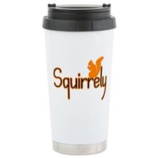 Squirrely Thermos Mug