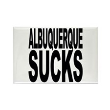 Albuquerque Sucks Rectangle Magnet