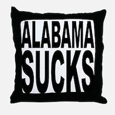 Alabama Sucks Throw Pillow