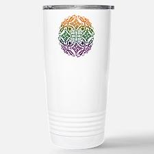 Celtic Mandala Emblem Travel Mug