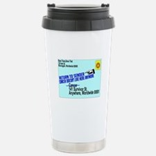 Cancer No More Travel Mug