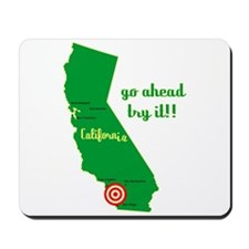 California Earthquake Mousepad