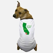 California Earthquake Dog T-Shirt