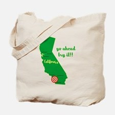 California Earthquake Tote Bag